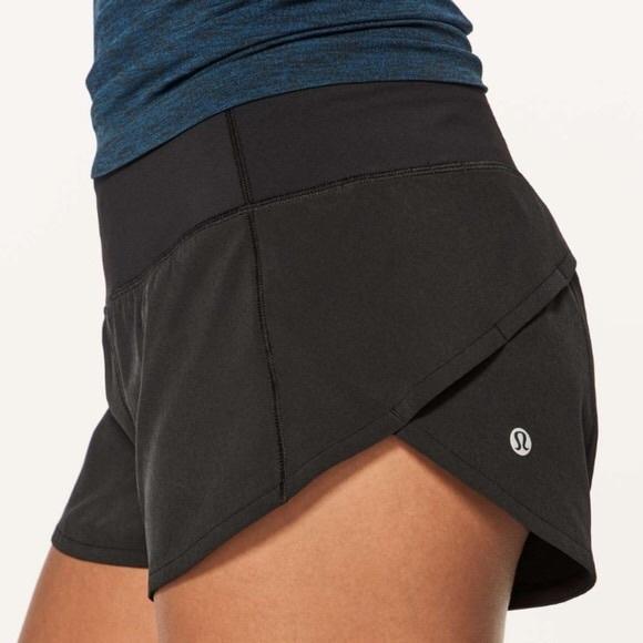 Lululemon speed up shorts 2.5